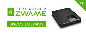 ZWAME Comparador: Discos Externos